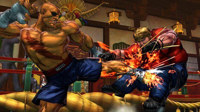 Imagem destacada dos melhores jogos para xbox 360 Super Street Fighter 4 Arcade Edition